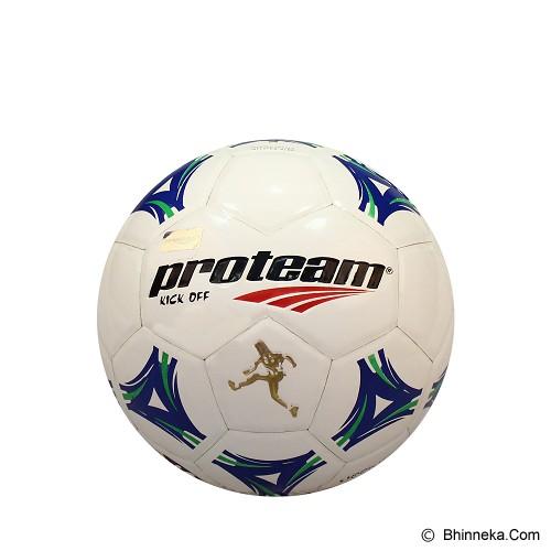 PROTEAM Bola Soccer Size 3 [Kick Off] - Blue/Green - Bola Sepak / Soccer Ball